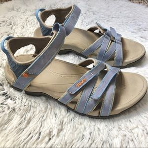 Teva Tirra sandal blue and gray water ready sz 8.5